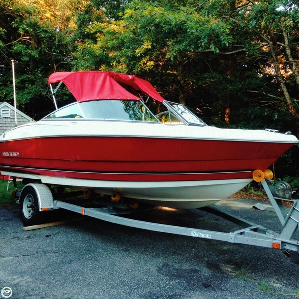 Used Monterey EDGE 180 FS Bowrider Boat For Sale