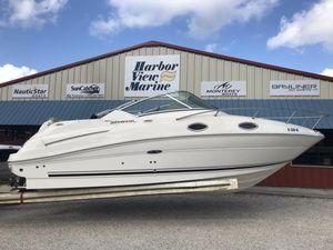 New Sea Ray 240 Sundancer240 Sundancer Cruiser Boat For Sale