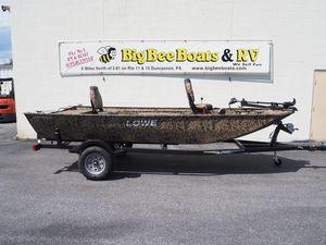 New Lowe Stryker SSStryker SS Bass Boat For Sale