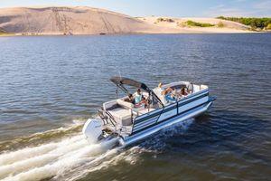 New Crest CL PLAT 240SLCCL PLAT 240SLC Pontoon Boat For Sale