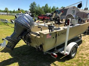 Used Lund 18 Alaskan18 Alaskan Freshwater Fishing Boat For Sale