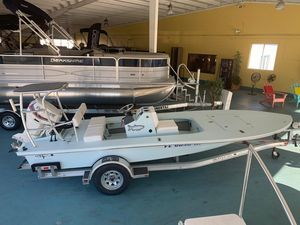 Used Beavertail 182182 Flats Fishing Boat For Sale