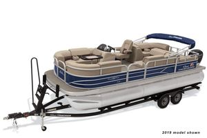 New Sun Tracker Party Barge 22 RF XP3Party Barge 22 RF XP3 Pontoon Boat For Sale