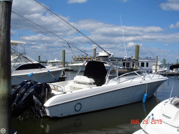Used Fountain 38 LX Walkaround Fishing Boat For Sale