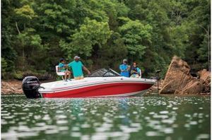 New Tahoe 550 TF Fish OB550 TF Fish OB Ski and Fish Boat For Sale