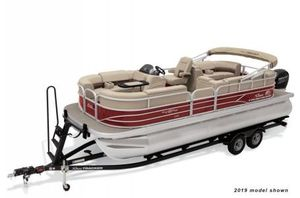 New Sun Tracker Party Barge 22XP3 w/150L 4SParty Barge 22XP3 w/150L 4S Pontoon Boat For Sale