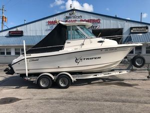 Used Striper 2101 Walkaround I/O2101 Walkaround I/O Saltwater Fishing Boat For Sale