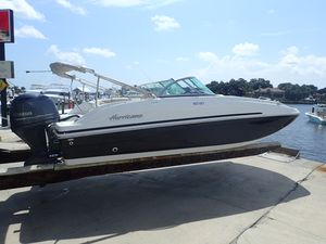Used Hurricane 187187 Deck Boat For Sale