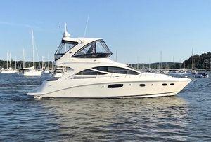 Used Sea Ray 45 Sedan Bridge Convertible Fishing Boat For Sale
