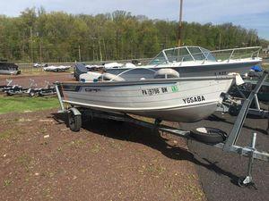 Used Grumman 14 super pro14 super pro Aluminum Fishing Boat For Sale