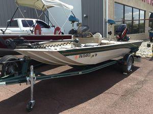 Used Crestliner CX 1650CX 1650 Aluminum Fishing Boat For Sale