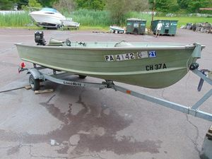 Used Starcraft 14 Open14 Open Freshwater Fishing Boat For Sale