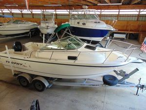 Used Trophy 2002 Walkaround Cuddy2002 Walkaround Cuddy Walkaround Fishing Boat For Sale