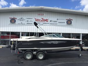 Used Monterey 196MS196MS Bowrider Boat For Sale