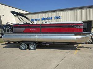 New Crest III 240 SLCIII 240 SLC Pontoon Boat For Sale
