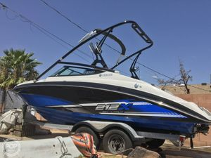 Used Yamaha 212X High Output Ski and Wakeboard Boat For Sale
