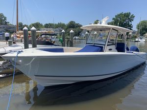 Used Cobia 344 Center Console344 Center Console Saltwater Fishing Boat For Sale