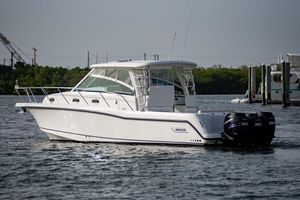 Used Boston Whaler 345 Conquest345 Conquest Walkaround Fishing Boat For Sale
