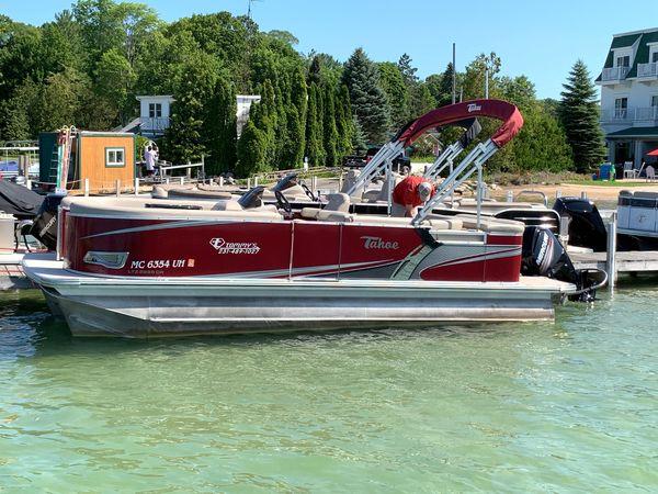 Used Tahoe LTZ CruiseLTZ Cruise Pontoon Boat For Sale