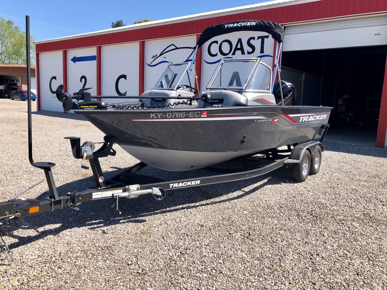 2017 Used Tracker Targa V18Targa V18 Freshwater Fishing Boat