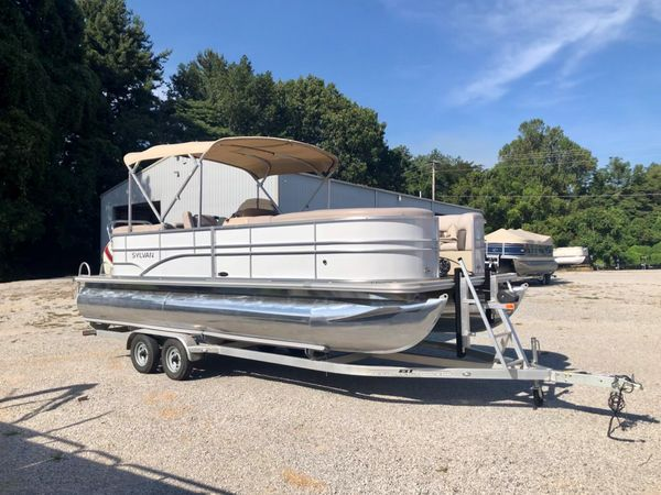 Used Sylvan 8522 LZ PB8522 LZ PB Pontoon Boat For Sale