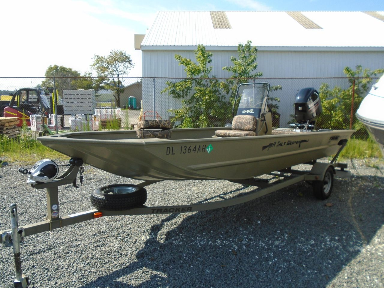 2014 Used Tracker 1860 Grizzly1860 Grizzly Jon Boat For Sale