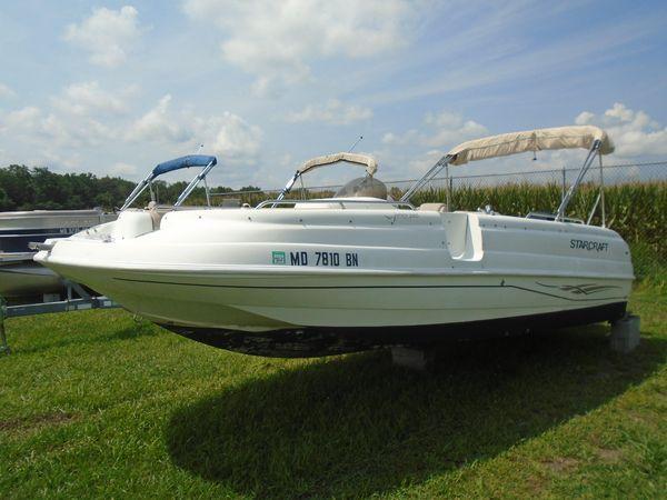 Used Starcraft Aurora 2005Aurora 2005 Deck Boat For Sale