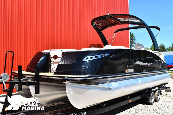 Used Harris crownecrowne Pontoon Boat For Sale