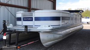 Used Harris 240 Classic240 Classic Pontoon Boat For Sale