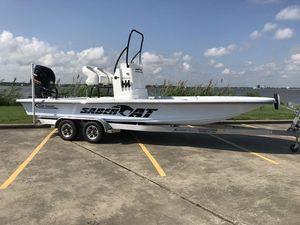 New Gulf Coast Saber Cat 25'Saber Cat 25' Bay Boat For Sale
