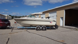 Used Slickcraft CC 235 Freshwater Fishing Boat For Sale