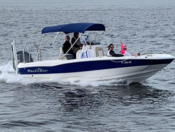 Used Nauticstar 211 Angler Center Console Fishing Boat For Sale