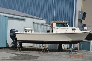 Used Parker 25 Sport Cabin Downeast Fishing Boat For Sale