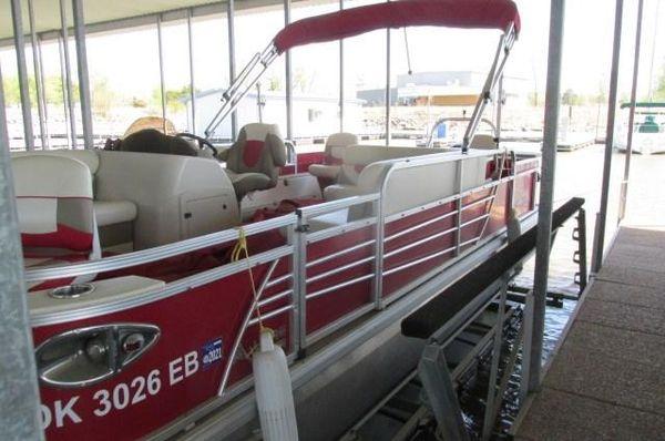 Used Landau 224224 Pontoon Boat For Sale