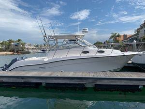 Used Seaswirl Striper 2901 Walkaround O/B Cuddy Cabin Boat For Sale