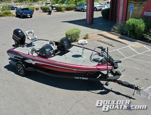 Used Nitro Z-7 DCZ-7 DC Freshwater Fishing Boat For Sale