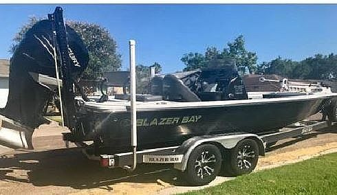 Used Blazer Bay 2420GTS Center Console Fishing Boat For Sale