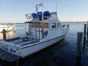 Used Custom 36 Cuttyhunk Downeast Fishing Boat For Sale
