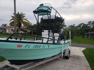 Used Panga 22 Center Console Fishing Boat For Sale