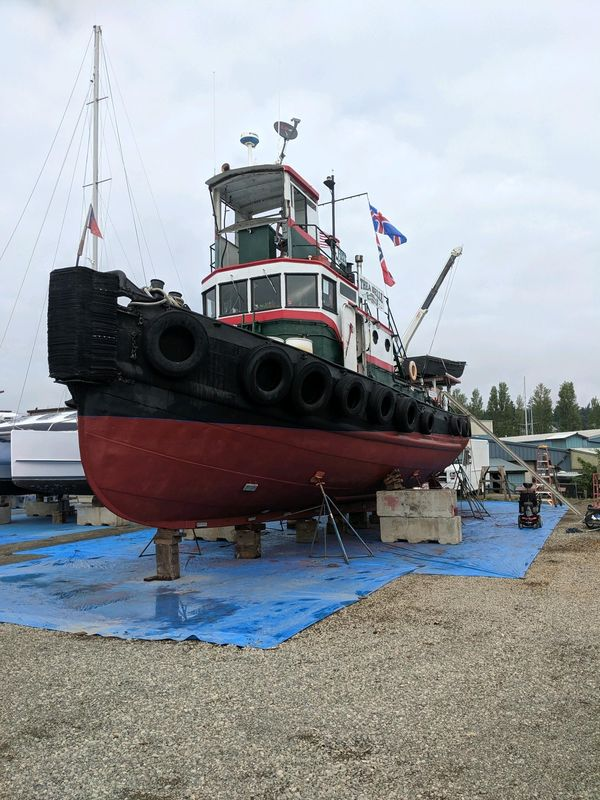 Used Tugboat YTL Commercial Boat For Sale