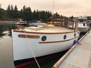 Used Elco 26 Replica Trawler Boat For Sale