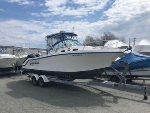 Used Mako 25 Walkaround25 Walkaround Saltwater Fishing Boat For Sale