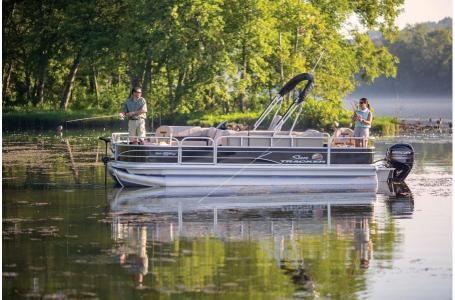 New Sun Tracker Fishing Barge 20 w/90ELPT 4S CTFishing Barge 20 w/90ELPT 4S CT Pontoon Boat For Sale