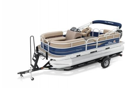 New Sun Tracker Party Barge 18 w/75ELPT 4S STDParty Barge 18 w/75ELPT 4S STD Pontoon Boat For Sale