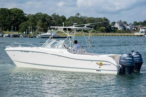 Used World Cat 25 DC25 DC Power Catamaran Boat For Sale