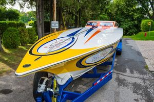 Used Fountain 42 Poker Run High Performance Boat For Sale