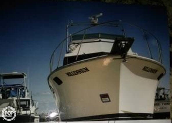 Used Pacemaker 36 Sportfish Trawler Boat For Sale