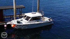 Used Shamrock 270 Mackinaw Walkaround Fishing Boat For Sale