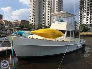 Used Heritage Yacht West Indian 36 Trawler Boat For Sale