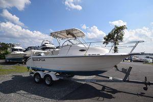 Used Sea Fox WALKAROUNDWALKAROUND Center Console Fishing Boat For Sale